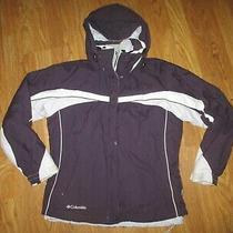 Womens Columbia Interchange Insulated Coat W/ Zip Out Jacket Sz S Sm Photo