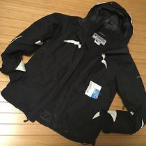 Womens Columbia Interchange Omni-Tech Jacket With Fleece Liner Size M Photo