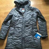 Womens Columbia Jacket-Large-Blue Grey-Omni-Heat Photo