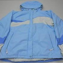 Womens Columbia Winter  Blue Jacket Size Large Photo