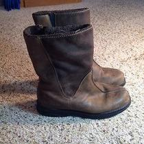 Womens Columbia Winter Boots Size 8 Leather and  Suede Brown Insulated Ked Photo