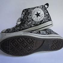 Womens Converse All Star Size 5 Chuck Taylor Skulls / Rock Out / Drums / Bones  Photo
