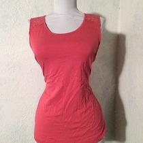 Womens Cosabella Lace Tank Top  Shirt Blouse Pink Size S Photo