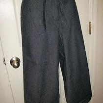 Womens Crop Capri Pants by Classic Elements Elastic Waist Size 10 Photo