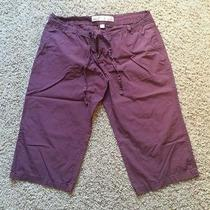 Womens Crops Mossimo Size 17 Color Wine Photo
