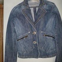 Womens Designer Bluejean Jacket Photo