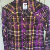 Womens Dickies Plaid Shirt Photo