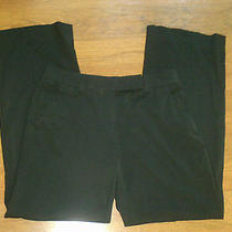 Womens Dkny Dress Pants Black 6 31 X 32 Nice Photo
