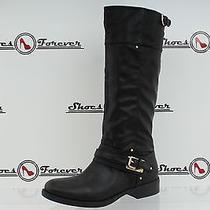 -Womens Dolce Vita Black Tall Pull-on Boots Sz. 8 New Photo