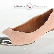 Womens Dolce Vita Stylish Blush Suede Flats Metallic Toe Shoes 6.5 M  Photo