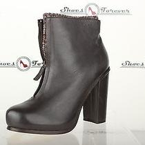 Womens Dolce Vita Stylish Brown Leather Ankle Boots W/ Socks Shoes Sz. 8 M New Photo