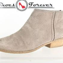 Womens Dolce Vita Stylish Gray Suede Ankle Boots Sz. 9 Photo