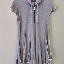 Womens Dress Kensie Size M Gray Super Soft 2 Pockets /zip Good Condition Photo