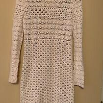 Womens Dress Michael Kors White/beige Size S Excellent Condition Photo