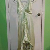 Womens Dress - Tiffany Designs - Mint Green - Sz 4 - 100% Silk - Prom Formal Photo