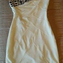 Womens Dress White Fitted Night Out Party Wedding Dress Photo