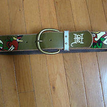Womens Ed  Hardy Handmade Leather Belt Mtrue Love-Ed Hardy 7829 Melrose Nice Photo