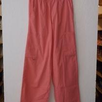 Womens Element Coral Scrub Pants Size L  (Nwot) Photo
