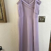 Womens en Focus Studio Evening Dress Size 16w Blush Elegant Wedding Gown-Nwt Photo