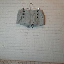 Womens Express 6 Pocket Size 10 Gray Shorts  Photo
