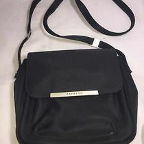Womens Express Adjustable Black Crossbody Messenger Bag Photo