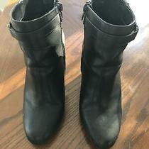 Womens Express Black Booties Sz 8 Photo