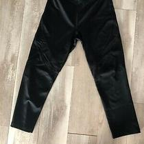 Womens Express Black Crop Work Out Leggings Size Xs Photo