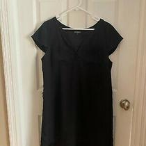Womens Express Black Dress Work Business Formal Cocktail - Size Large Photo