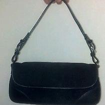 Womens Express Black Logo Clutch Purse Gr10-B2 Photo