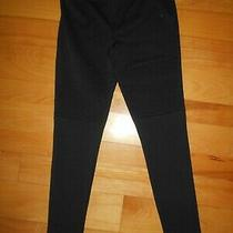 Womens Express Black Yoga Pants Sz M Photo