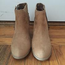 Womens Express Brown Ankle Boots Size 6 Photo