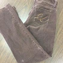 Womens Express Brown Corduroy Pants Size 0 Photo