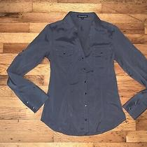 Womens Express Button Up Shirt Size Xs Photo