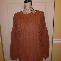 Womens Express Cable Knit Sweater Size M Photo