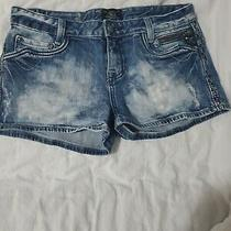 Womens Express Denim Shorts Size 8 Photo