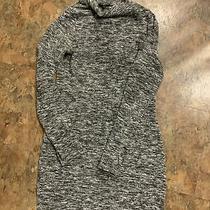 Womens Express Gray Black Sweater Dress Size M Photo