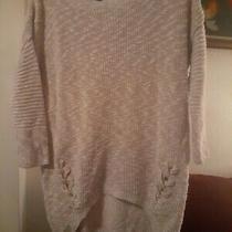 Womens Express Light Biege Sweater Size Small Photo