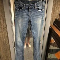 Womens Express Light Blue Skyscraper Denim Size 0 Photo