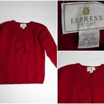 Womens Express Long Sleeve Sweater Top S Photo