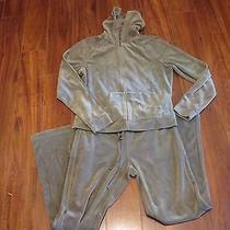 Womens Express Medium Green Athletic Suit Juniors Medium Track Suit  Photo