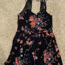 Womens Express Romper Floral Size Xs Pre-Owned Photo