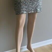 Womens Express Sequin Glam Skirt Size Xs Photo