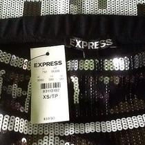 Womens Express Sequin Skirt sz.xs Nwts Photo