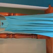 Womens Express Size 4 Baby Blue Dress  Photo