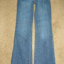 Womens Express Slim Boot Jeans  Size  2 X 30        9455 Photo