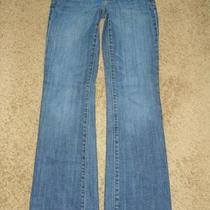Womens Express Slim Boot Jeans  Size  2 X 30       9456 Photo
