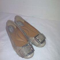 Womens Fossil Ballet Flats Light Tan Kahki- Size 6.5m Photo