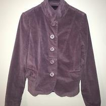 Womens Fossil Blazer Purple Size M Euc Photo