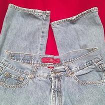 Womens Fossil Genuine Vintage Straight Leg Jeans Sz 8r Photo
