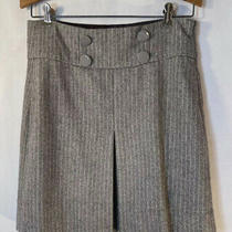 Womens Fossil Wool Blend Skirt 4 Lined Photo